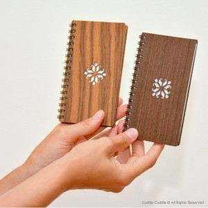 Notebook wooden small 2