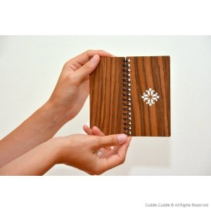 Notebook wooden small
