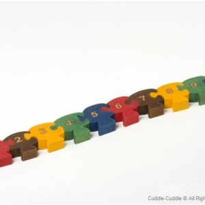 Wooden Counting Puzzle 2