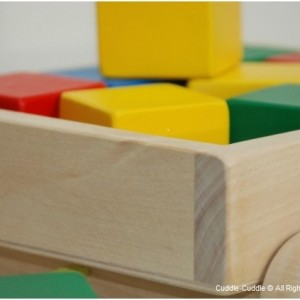 Wooden Pull Toy-Cart with blocks 2