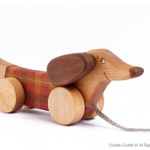 Wooden Pull Toy-Dog
