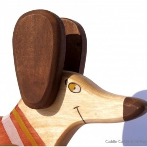 Wooden Pull Toy-Dog 2