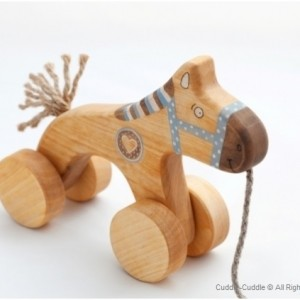 Wooden Pull Toy - Horse