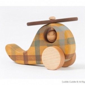 Wooden Push Toy-Plane