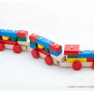Wooden Toy-Train