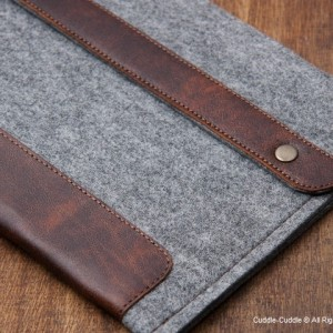 Deluxe iPad case-light grey2