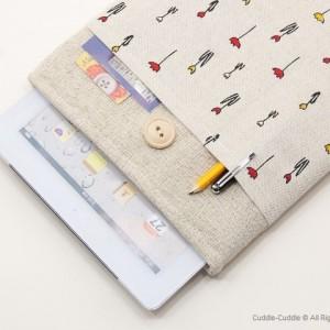 Linen iPad-Tulips1