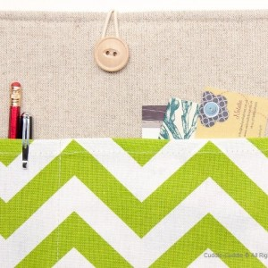 MacBook linen case-Green2