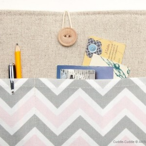 MacBook linen case-Grey and Pink2