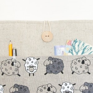 MacBook linen case-Sheeps