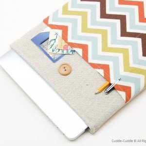 MacBook linen case-Various colors