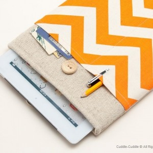 iPad case-Orange ornament1