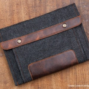iPad case-black with pocket2