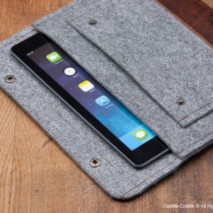 iPad case-grey with pocket1