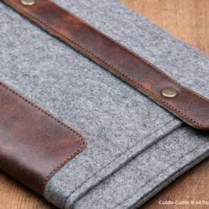 iPad case-grey with pocket3