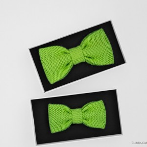 Father&Son Bow Tie Set-Green