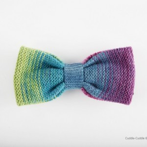 High Quality Bow Tie-Blue&Purple