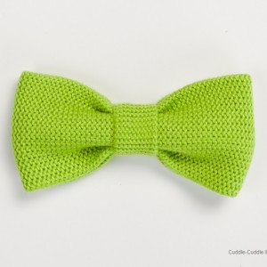 High Quality Bow Tie-Salad Green