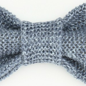Linen Bow Tie-Light Blue