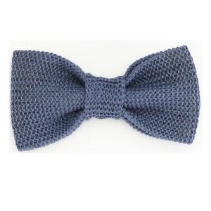 Bow Tie-Blue Linen