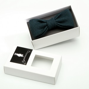 Bow tie dark green
