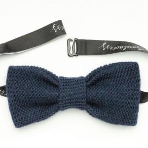 Bow tie ocean blue